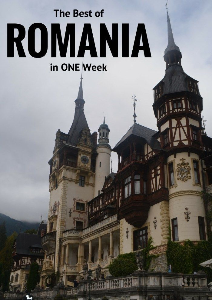 The Best of Romania in 1 Week - Eat Sleep Breathe Travel Romania | Romania Travel | One week Romania | Romanian castles | Romania travel tips | Romania travel guide | road trip Romania | Romania travel | What to see in Romania | How long to spend in Romania #adventuretravel