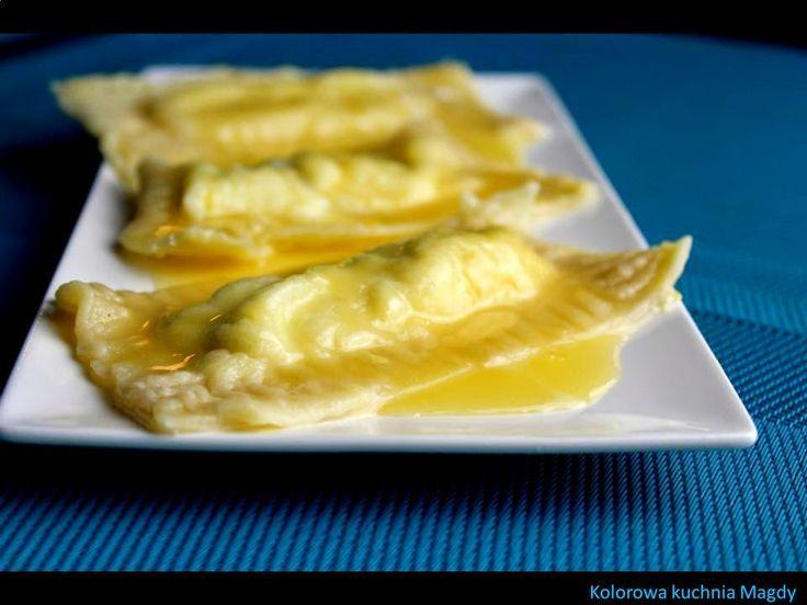 Kolorowa Kuchnia Magdy: Cytrynowe ravioli z serem ricotta