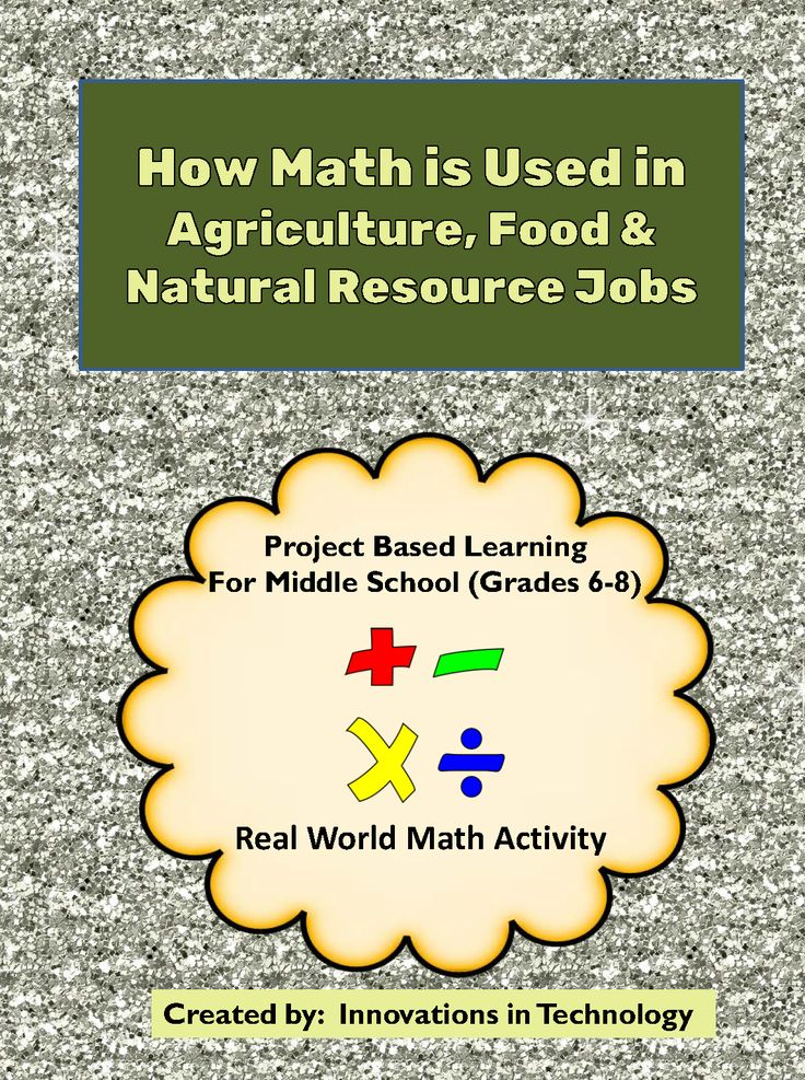 "This project has students using real-world math skills to learn to perform the calculations that are done in agriculture, food and natural resource jobs. They will use formulas (included) to learn how to compute interest and profits, how to determine percentages and use fractions, and other basic math skills used in this industry.    Are your students always asking ""When will be ever USE this??"" This short activity shows students a real world use for the math skills they learn every day…"