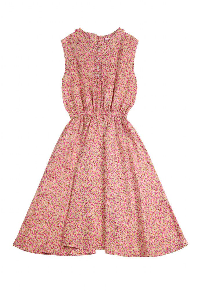 Coco & Ginger - Cinnamon Dress - Pink Morocco