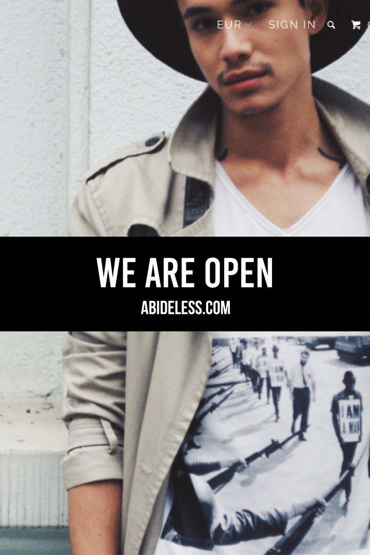 ABIDELESS ONLINE STORE IS OPEN! enjoy beautiful content and easy purchase experience! www.ABIDELESS.com #fashion #fashionweek #dope#style #lookbook #streetwear #streetstyle #rebel #villain #beauty #model