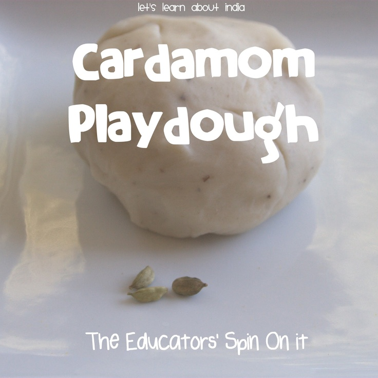 Let's have fun with Diwali Sweets with Cardamom Playdough from The Educators' Spin On It