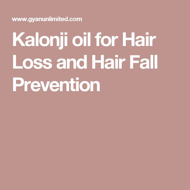 Kalonji oil for Hair Loss and Hair Fall Prevention