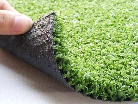 thinking about going half the master in a custom fake grass rugseems