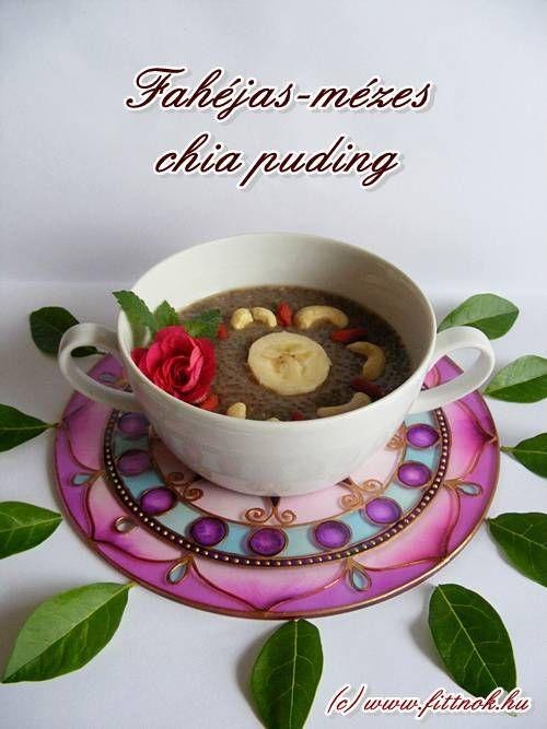Mézes-fahéjas chia puding   Fitt Nők blog