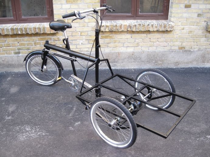 "We import these wonderful hand made Cargo Bikes from Denmark. Sorte Jernhest (The ""Black Iron Horse"").  http://www.streetfoodaustralia.com.au/  http://www.pearler.com.au/"