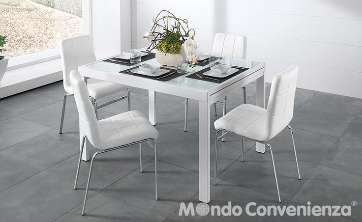 Tavolo e sedia Marte - Mondo Convenienza