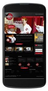 Perth Karate Kids website as one of mobile friendly website from Sushi Digital