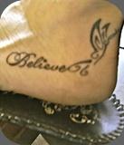 getting this.: Tattoo Ideas, Foot Tattoo, Believe Tattoo, Ankle Tattoo, Feet Tattoo, Words Tattoo, Tattoo Design, Tattoo Ankle Bracelets, Ankle Bracelets Tattoo