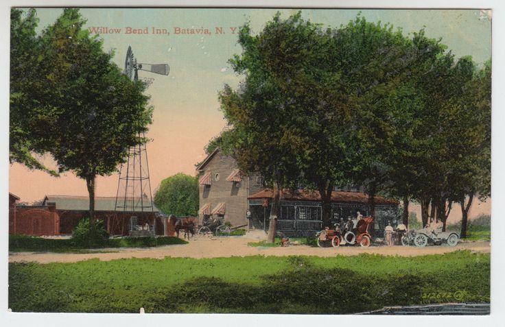 Willow Bend Inn Batavia NY C 1912