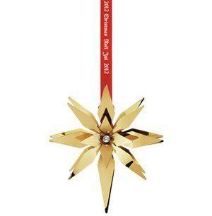 Georg Jensen Christmas Ornament 2012 - Bethlehem Star by Georg Jensen. $75.00