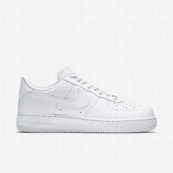 uk availability b2efe 70fef Nike Mens White White Air Force 1 Shoe
