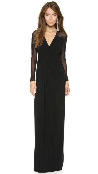 Black tie spring dresses