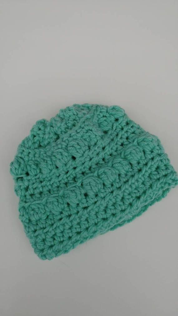 Check out this item in my Etsy shop https://www.etsy.com/ca/listing/582410858/bobble-knit-baby-beanie-crochet-toddlers