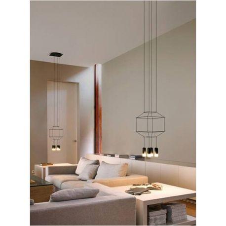 Vibia lámpara sobremesa Wireflow. Los mejores precios en primeras marcas de iluminación y mobiliario.    Visítanos !   http://ambientsiluminacion.com/lamparas-techo/110-wireflow.html