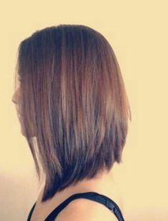 Inverted Long Bob | Bob Hairstyles 2015 - Short Hairstyles for Women                                                                                                                                                                                 More