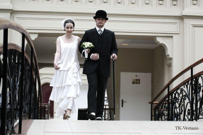 TK-Vestiario.ru Таисия Кирцова TK-Vestiario — индивидуальный пошив дизайнерской одежды на заказ » Свадебное платье в стиле 20-х годов.