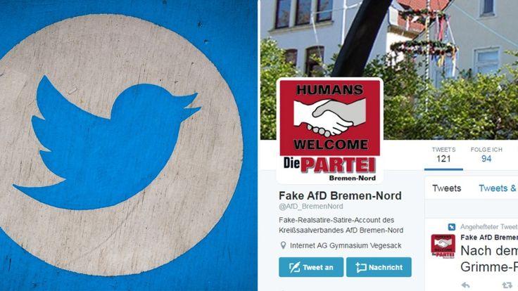 "Twitter Falscher AfD-Account: ""Schöne Grüße an Herrn Böhmermann"""