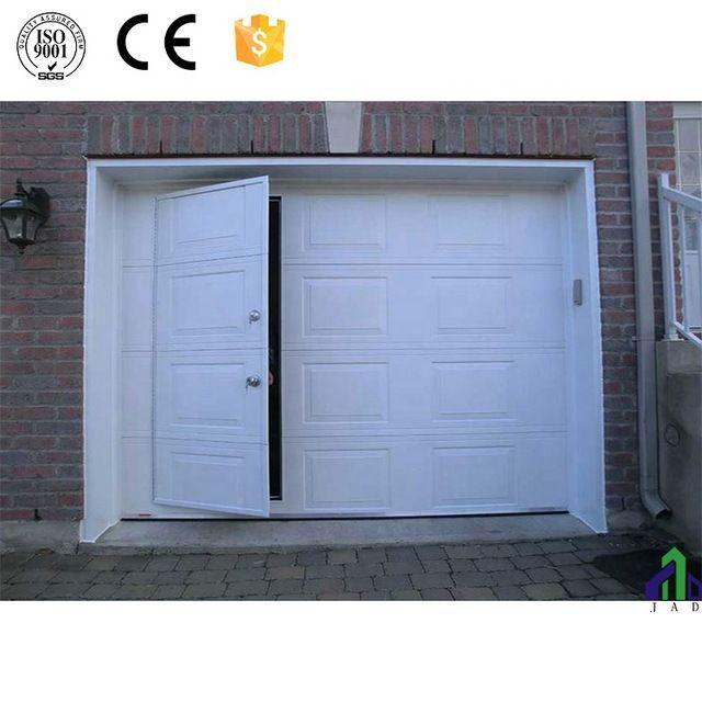 Source Cheap Garage Doors With Small Pedestrian Access Door On M Alibaba Com Access Cheap Door Doors In 2020 Cheap Garage Doors Garage Doors Prices Garage Doors