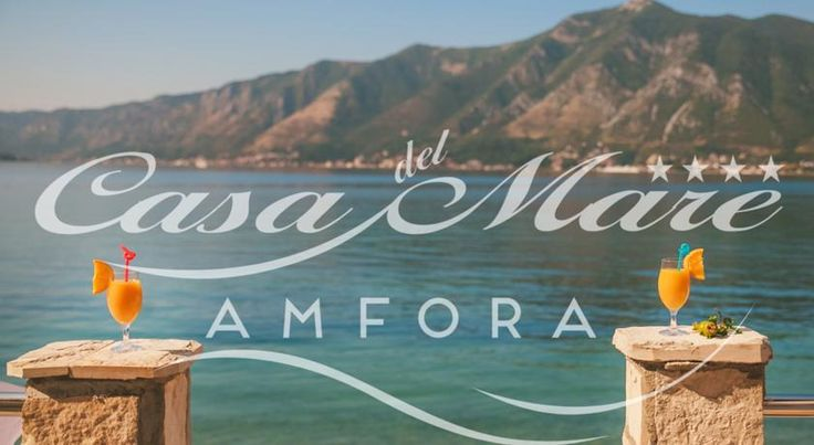"In heart of Boka bay, in small village Orahovac, hotel ""Casa del Mare-Amfora"" offers suites with balconies featuring picturesque views over the water."