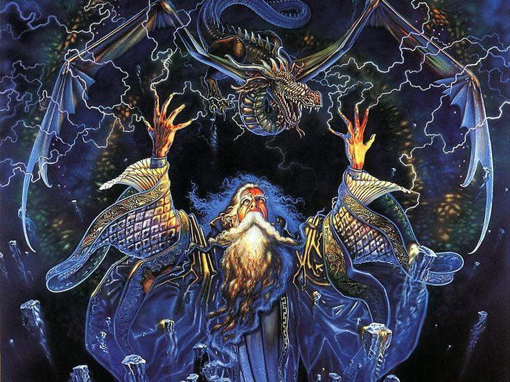 myles pinkney | Myles Pinkney - Calendrier 2002 - 01 - Dragonstorm.jpg