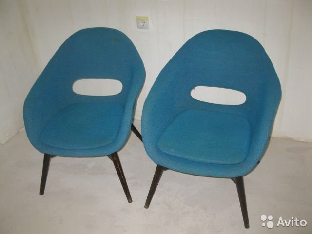 Ретро кресла и стулья— фотография №1