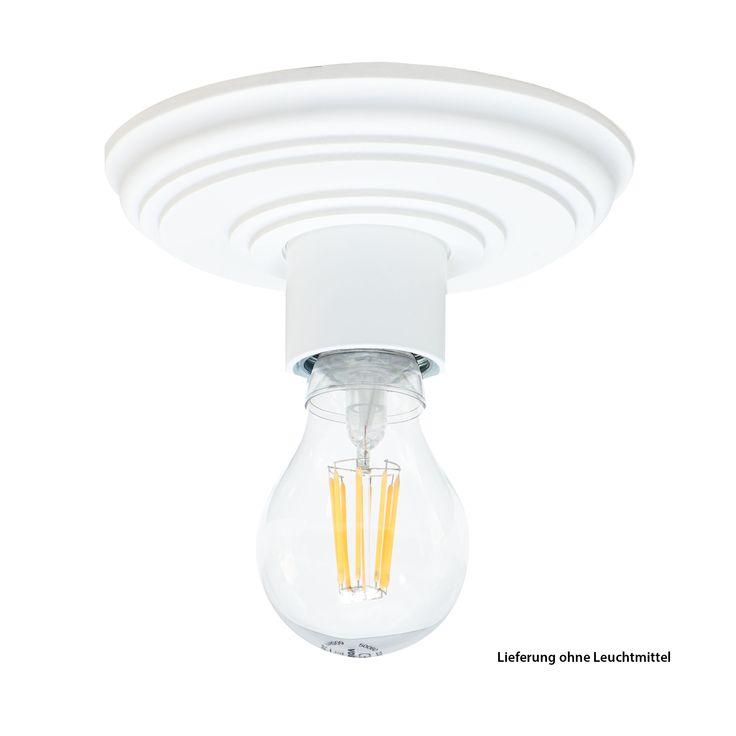 Yli tuhat ideaa Deckenleuchte Rund Pinterestissä Deckenlampe - schwarz weiß wohnzimmer