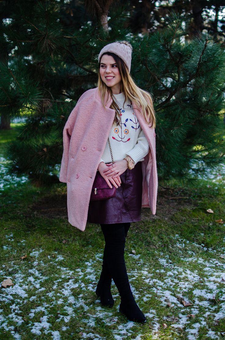 Sweet pink coat