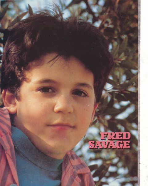 FRED SAVAGE. Now I have a lot of celebrity crushes but Freddie was my biggest (maybe aside from Elvis)