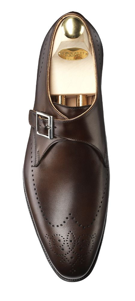 Cobham - Dark Brown Burnished Calf / Crockett & Jones