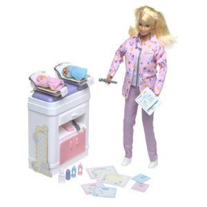 Barbie Happy Family Baby Doctor Barbie Doll