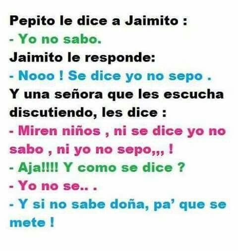 Pepito y Jaimito