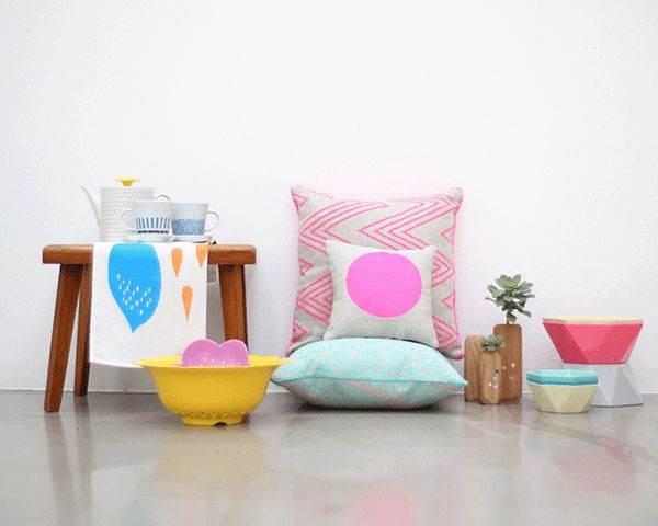 Follow Store featuring our Amira and mini pop cushions