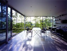 Wall-less House by Tezuka Architects | HomeDSGN