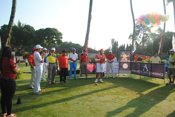 Atria Hotel Magelang at Borobudur International Golf. Official hotel partner Candaan Open Golf Tournament 2015.  #AyoKeMagelang2015 #AtriaHotelMagelang