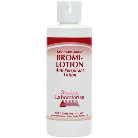 Gordon Labs Bromi Anti-perspirant Lotion for Excessive Perspiration and Odor PerformanceFoot 4 oz