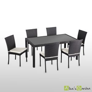 1000 id es sur le th me table de jardin solde sur pinterest. Black Bedroom Furniture Sets. Home Design Ideas