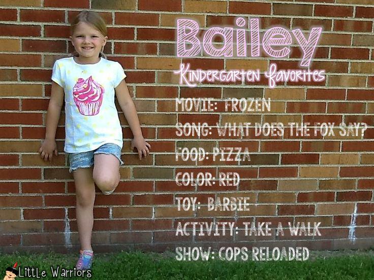 Little Warriors: Kindergarten Favorites Pictures-A Wonderful Keepsake!