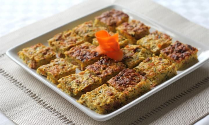 This simple zucchini and chorizo slice is packed full of healthy vegetables and eggs and has the added bite of chorizo sausage. Bake some for a light lunch to have with salad or slip some into lunchboxes.
