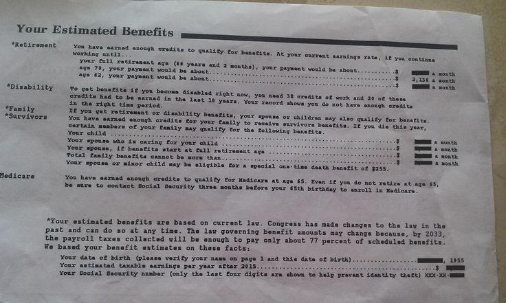 ssi review letter best 25 social security ideas on social 13182