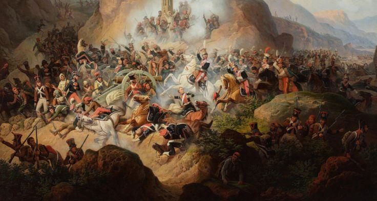 30 listopada 1808 r. polski szwadron Szwoleżerów Gwardii przeprowadził zwycięską szarżę w czasie bitwy pod Somosierrą. Somosierra - przełęcz w Hiszpanii w górach Sierra de Guadarrama - Góry Kastylijskie, strategiczny punkt na drodze do Madrytu. 30 listopada 1808 r. szwadron polskich szwoleżer