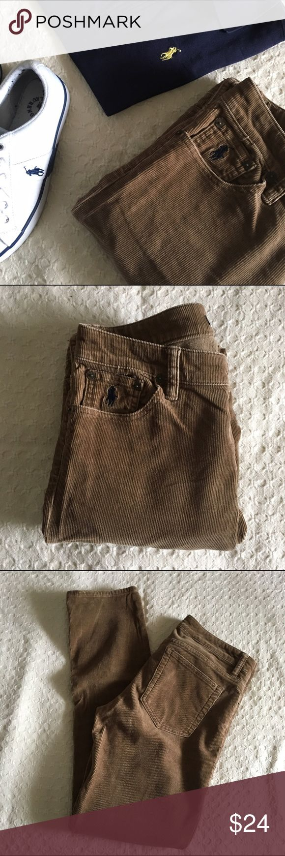 brown Ralph Lauren corduroy pants. Brown straight leg corduroys. EUC. More info will be available. Ralph Lauren Pants Straight Leg