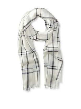 47% OFF Salvatore Ferragamo Men's Plaid Scarf (Beige)