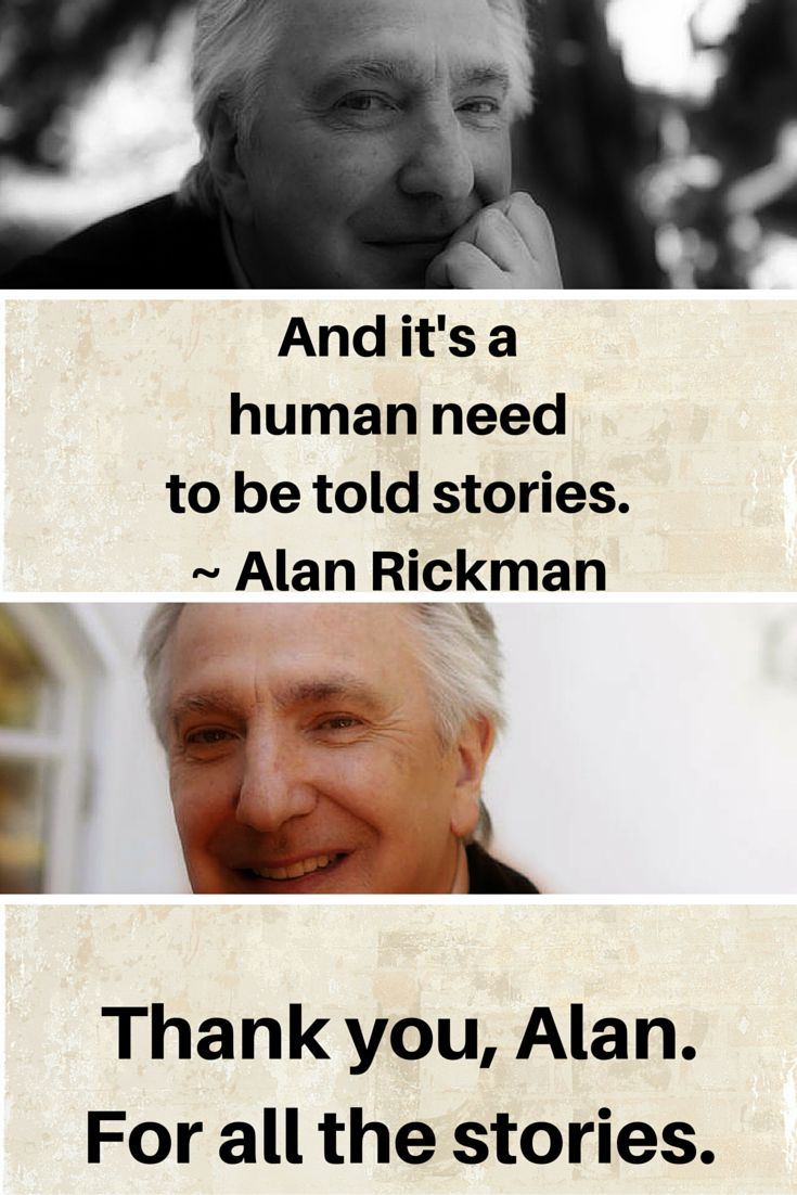 537 best I Miss Alan Rickman, Miss Snape images on Pinterest ...