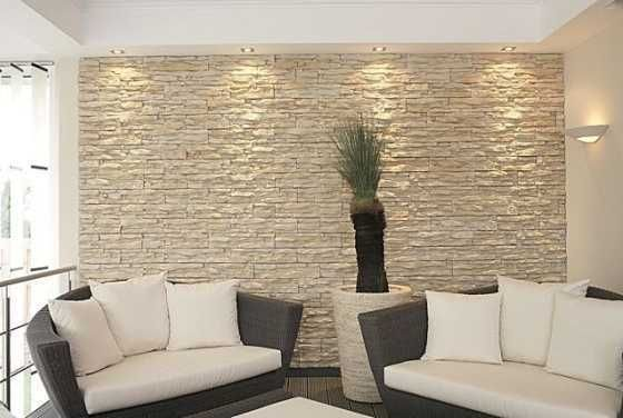 White Wall Stone Veneer Interior Stone Veneer for Rustic Styles - for our lounge and entrance hall............