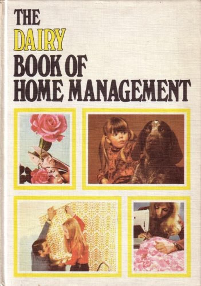 Vintage Hardback Dairy Book Of Home Management 1969 1st Edition - Rare by BunkysVintageCrafts on Etsy