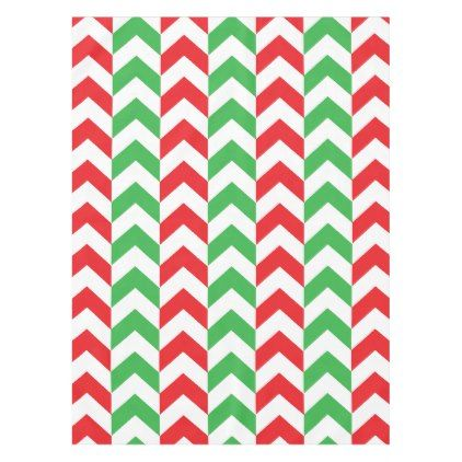Candy Cane Chevrons Tablecloth - kitchen gifts diy ideas decor special unique individual customized
