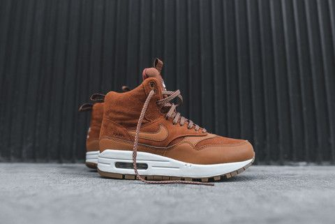 Nike WMNS Air Max 1 Mid Sneakerboot - Tawny   Kith NYC