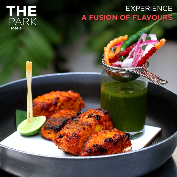 ‪#‎TheParkWay‬: From Ginseng Fish Tikka to Mint Salad Shots, flavours at The Park Hotels spans across time zones and taste buds.