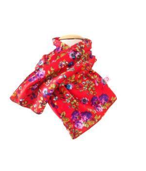 Soft velvet children scarf